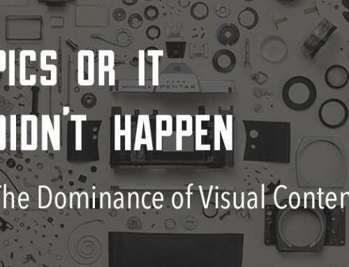 'Pics or it Didn't Happen': The Dominance of Visual Content