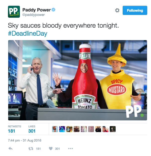 paddy power branded