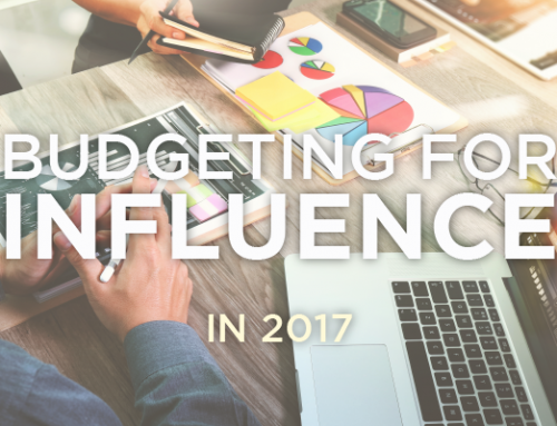 Budgeting for Influence in 2017